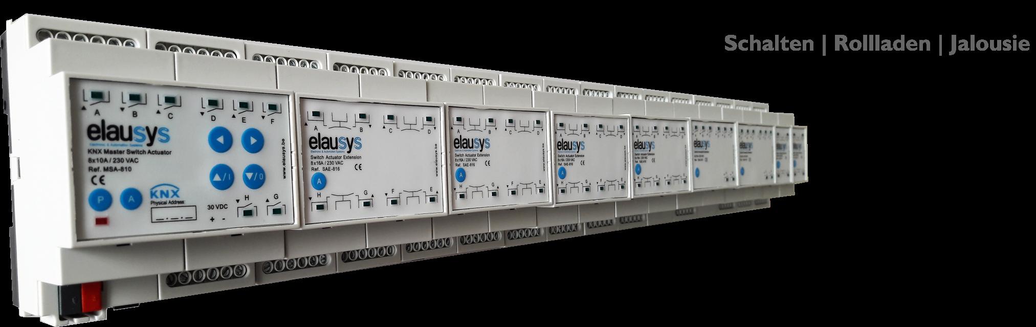 KNX Actuator system